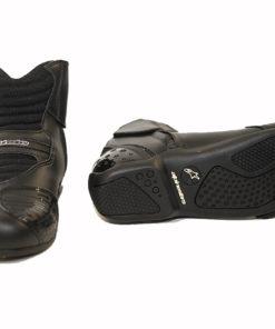 Buty skórzane motocyklowe Alpinestars model SMX-1 kolor czarne