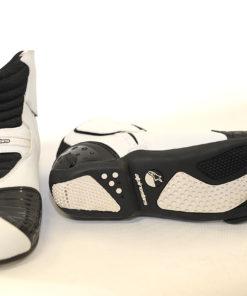Buty skórzane motocyklowe Alpinestars model SMX-1 kolor czarno białe