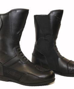 Buty skórzane motocyklowe Ozone model ROAD kolor czarne