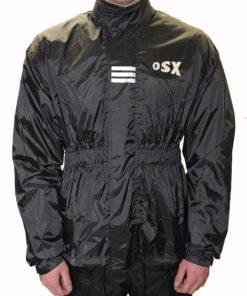 Kurtka przeciwdeszczowa OSX kolor czarny