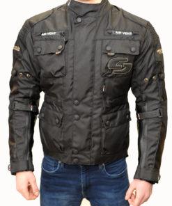 Kurtka tekstylna męska Tschul 750 black