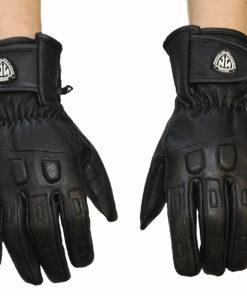 Rękawice skórzane motocyklowe NOINA kolor czarne