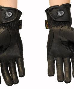 Rękawice skórzane motocyklowe OSX model 40086 kolor czarne