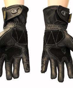 Rękawice skórzane motocyklowe OSX model 923 kolor czarne