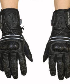 Rękawice skórzane motocyklowe Prospeed model 40059 kolor czarne