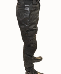 Spodnie tekstylne Tschul 049 black