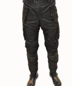 Spodnie tekstylne Tschul 842 black